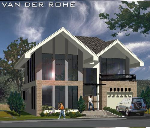 Dream house - This is the Van Der Rohe