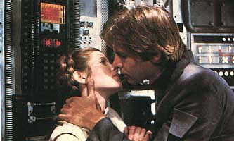 Han & Leia - Han and Leia from the Star Wars trilogy films