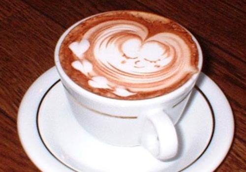 cup of coffee - a tasty cup of coffee.sip it. enjoy it.