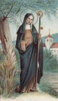 St Gertrude - patron saint of cats