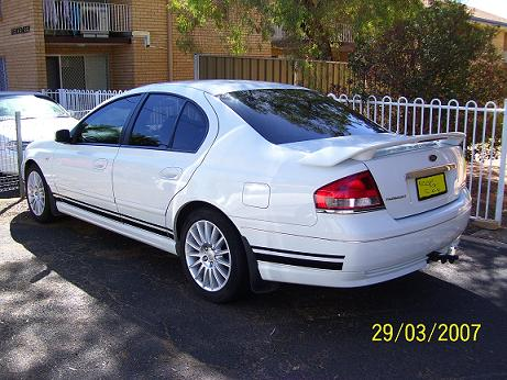 do you like my car - this is my 2003 ba fairmont