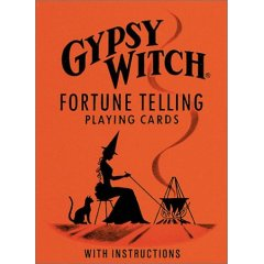 Gypsy Witch Tarot Deck - The Gypsy Witch Fortune Telling Playing Cards.