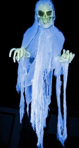 Ghost, scary - Black magicians are also scared of these sort of scary ghosts.