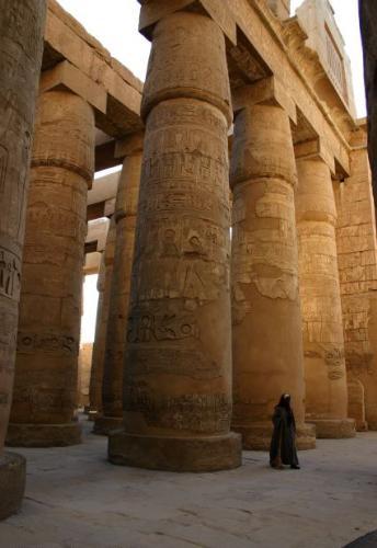 Karnak Columns - Karnak Columns located in Egypt