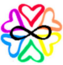 Polyamory logo - One of the few symbols that have been created to show the polyamory lifestyle.
