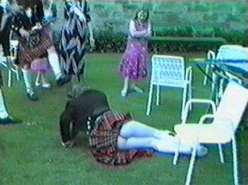 scottish  - wedding drunk