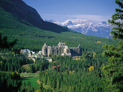 Fairmont Springs, Banff Alberta - The resort that my brother ill be working at this summer.