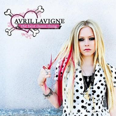 "Avril Lavigne - New Album ""The Best Damn Thing"" Cover."