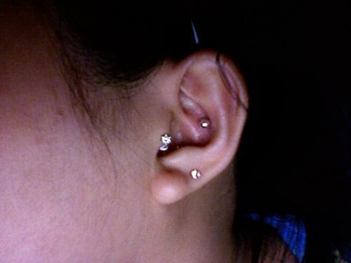Piercing - I just got my ear pierced!