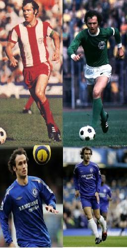 Beckenbauer and Ricardo Carvalho - Clones - For me: The same Hair Style,the same look,the same style of playing football. For me BeckenBauer and Ricardo Carvalho are the same,lol,Great great players, and for you?