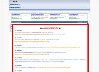SmartForumz.Org Screenshot - This is the view of smartforumz.org front page.The frontpage will appear as it.
