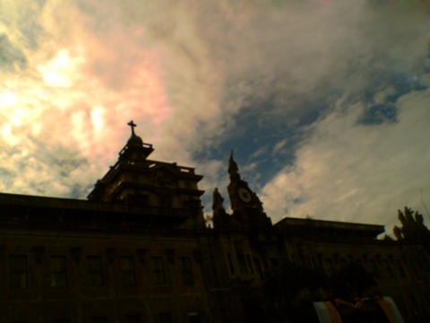 UST Main Bldg At Sunset - Photography by Jhongz UST Batch 2010