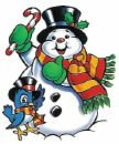 Frosty the Snowman is wishing you a Merry Christma - Frosty the Snowman wishing you a Merry Christmas.