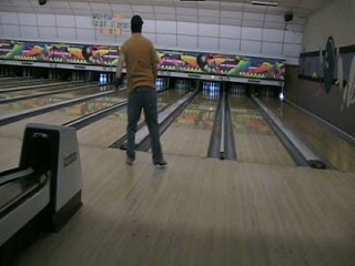 Bowling - Me follow-thru bowling