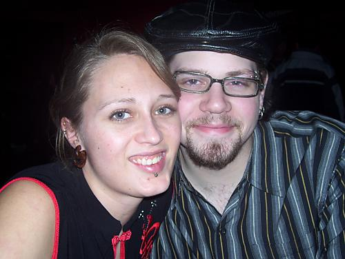 My Crystal Girl and Jim ;) - a night out in Regina, they make such a cute couple don't you think!