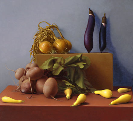 food - this is a painting original of fruits and vegetables