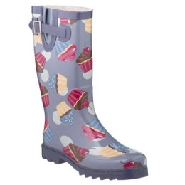 Target's Cupcake Rainboots - Cupcake Print Rain Boots - Lavender $19.99