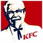 kfc - Kentucky Fried Chicken..Its finger lickin good..heh..