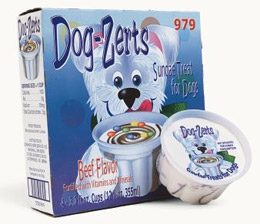 Dog-Zerts from Schwans - frozen treats for pooch