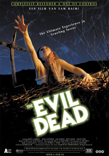 The Evil Dead! - DVD Label Of Evil Dead 1