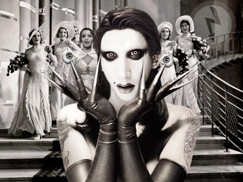 Marilyn Manson  - Cool image of Manson