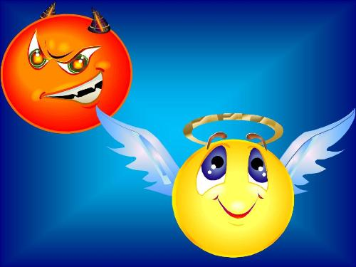 Good and Evil - Graphic representation of Good and Evil