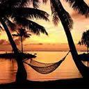 sunset at a beautiful beach -  Sunset