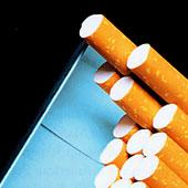 20% of kids actually smoke - cigarettes