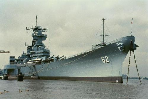 bb-62 - Battleship New Jersey