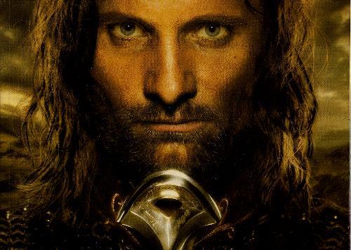 Viggo Mortensen - picture of the actor Viggo Mortensen as Aragon in Lord Of The Rings