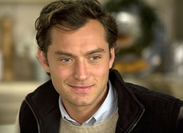 Jude Law - I looove his character in The Holiday!