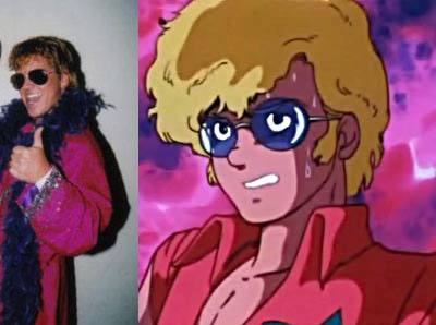 Sweeney and Sanshiro - These two look so much alike, don't they? So what if they are from different dimensions? maybe they were separated at birth and one of them got sucked into the second dimension or the third? Who knows? It's a real mystery!