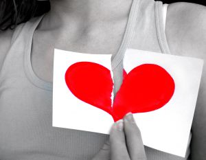 broken heart - many people experience the feeling of being a broken hearted one!