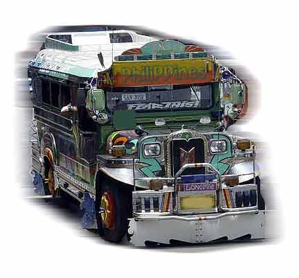 philippine jeepney - Jeepneys in the Philippine used for public transportation