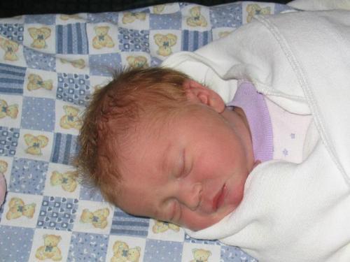 Baby asleep - Sleeping baby photo