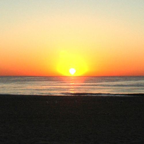 Sunrise - I like the view when the sunrise.