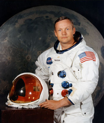 Was or not Armstrong to the moon? - the moon