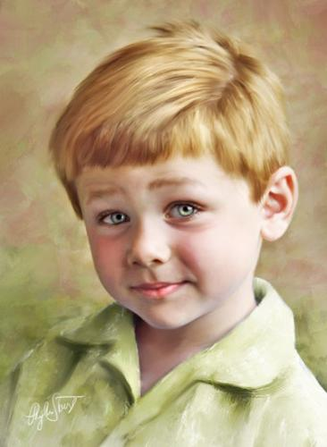 Art - A Boy - this boy is so enchanting for me