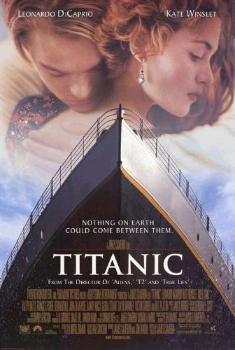 Titanic - romatic love story film