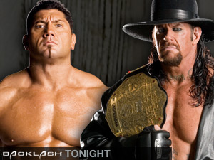 batista & the undertaker - who gonna b the winner