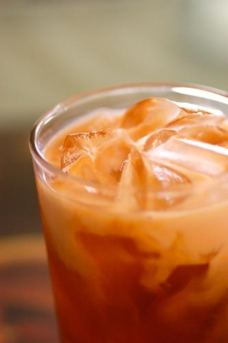 thai ice tea - isn't it make you thirsty ??