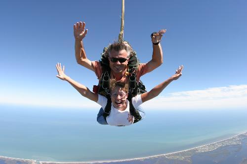 skydiving - Me skydiving 4 years ago