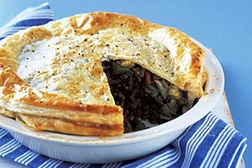 Family Minced Pie - What a wonderful family minced pie