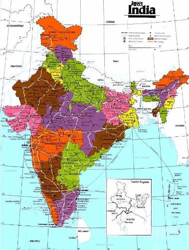 Guepac Hindustan Map