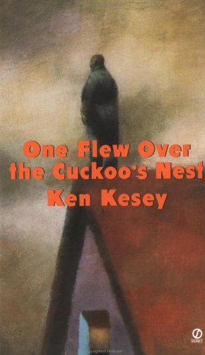 a Version of the Book's Cover - This cover makes the asylum of the minds that Ken Kesey created look quaint AND dark.