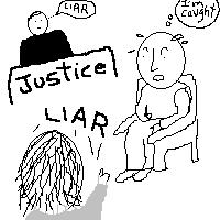 The Liar Witness - A witness gets caught lieing on the witness stand