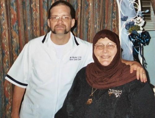 My husband (LPN) & me a retired RN. - 2 nurses