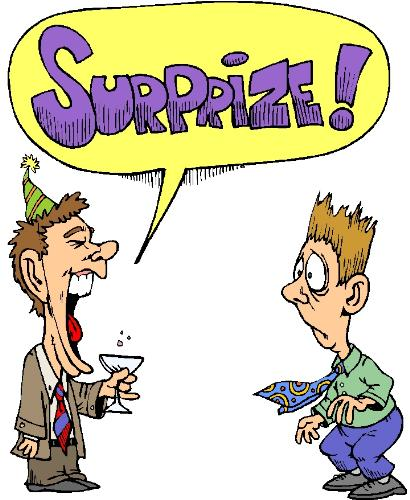 surrprise party - a picture of a surprise party