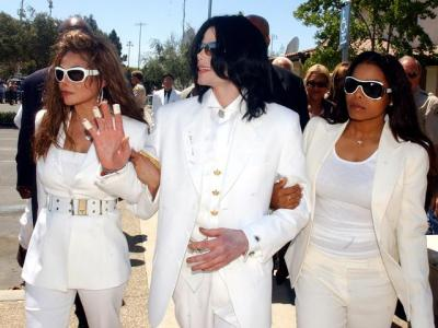 Three Of The Jacksons -  The three most famous members of the Jackson family.