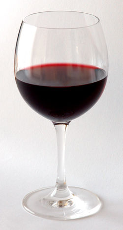 wine - wine glass.....a glass of red wine a day.....keeps heart diseased away